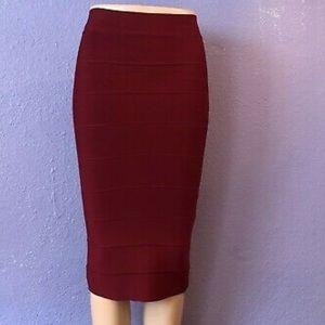 BCBG Leger bodycon skirt